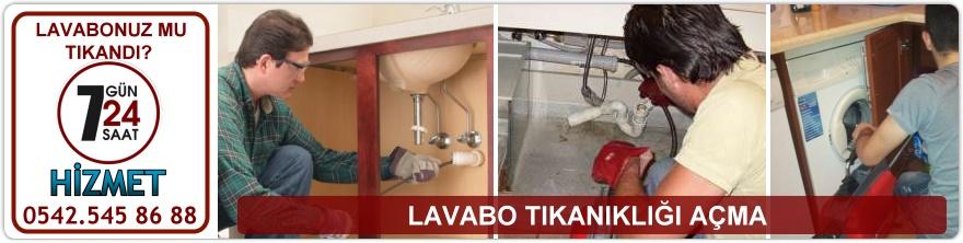 Ankara Lavabo Tıkanıklığı Açma Hizmetleri