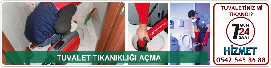 Tuvalet Tıkanıklık Açma Ankara
